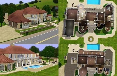 floor plans sims 3 mansion floor plans 000 jpg 570 215 368 sims stuff