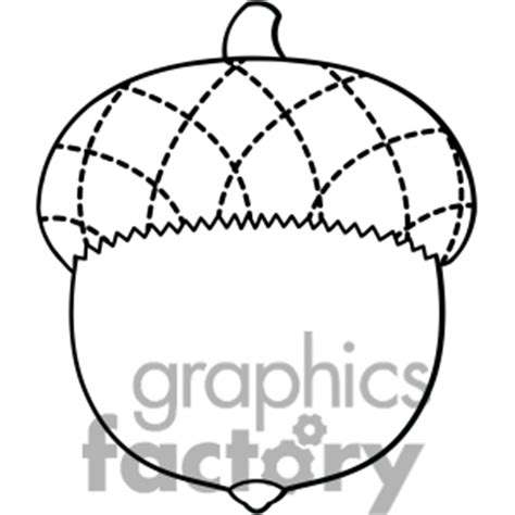Acorn Drawing Outline by Clip Acorn Vector Clipart Panda Free Clipart Images