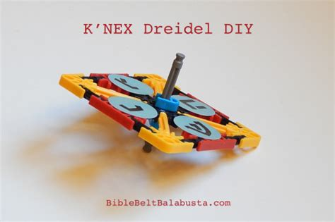 printable knex instructions free diy k nex dreidel home or carnival kits easy to make