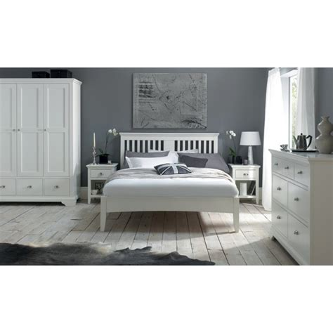 White Painted Headboard Buy Hstead White Painted Headboard From Oak Furniture House