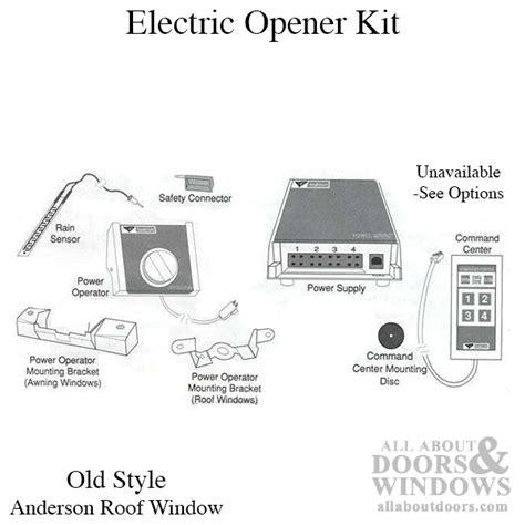 andersen roof window kit unavailable electric opener kit style andersen roof