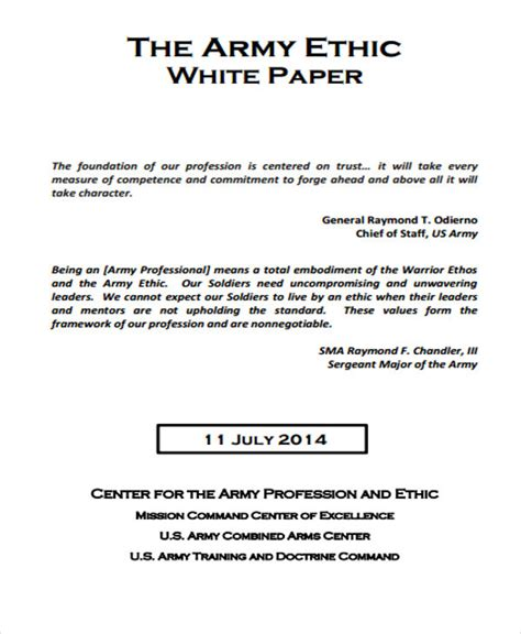 36 White Paper Exles Free Premium Templates White Paper Format Template