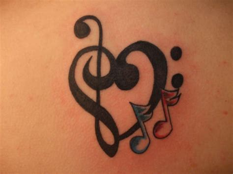 heart with music notes tattoo designs note by demonsin sanctus on deviantart