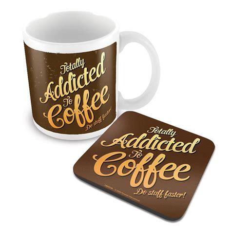Mug Coffee Addict By coffee addict mug and coaster set mugs pyramidshop