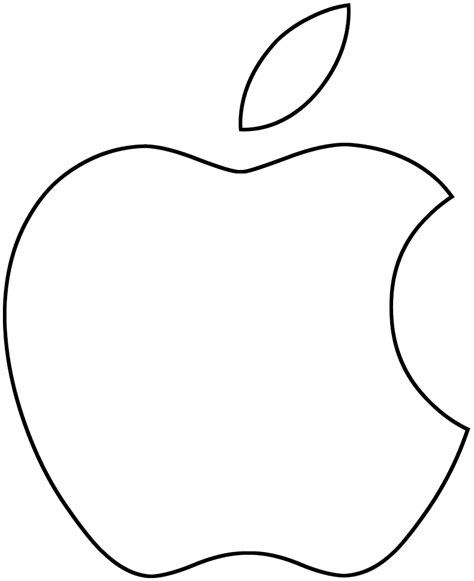 Apple Outline Png by White Apple Logo Png Pineapple Vector Outline Clipart Library Free Images White Apple Logo