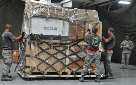 pallet build up contest introduced at rodeo gt air mobility command gt article display
