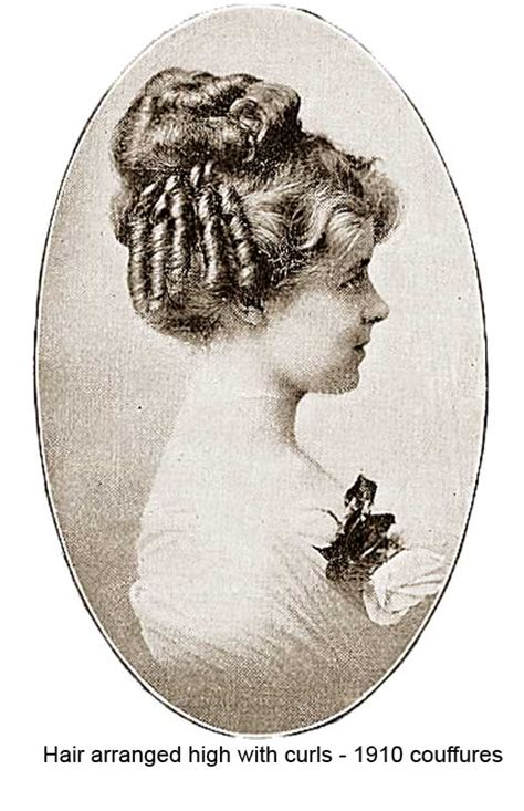 haair style in 1910 1910 hairstyles new coiffures of the summer girl
