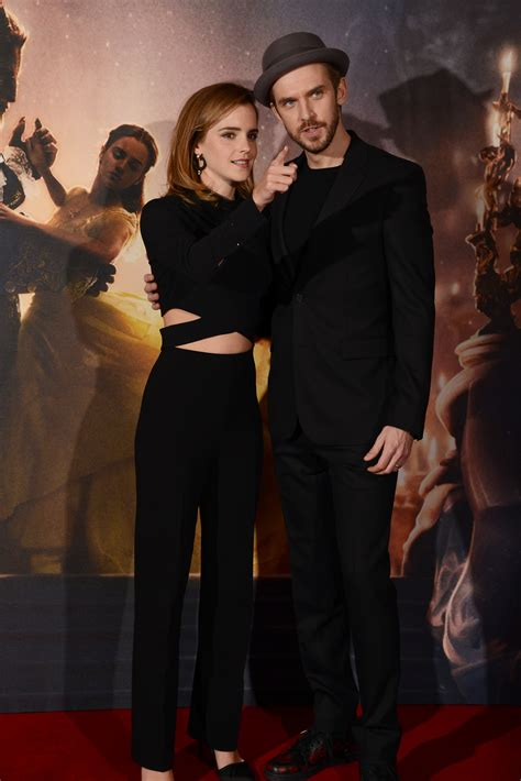emma watson and dan stevens we re unapologetically obsessed with these photos of emma