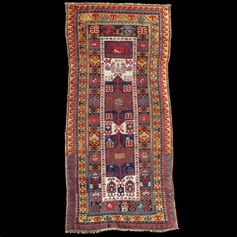 tappeto caucasico tappeto caucasico antico kazak 10 carpetbroker