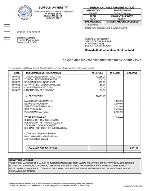 tax invoice template excel free business template
