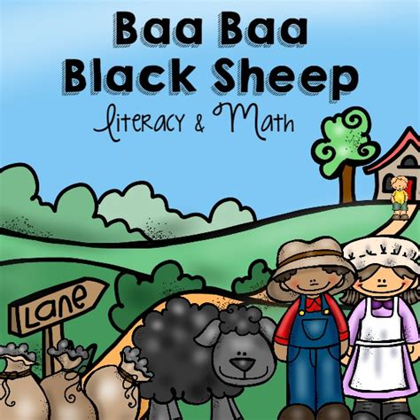 Spider Nursery Rhyme by Baa Baa Black Sheep Preview Pre K Pages