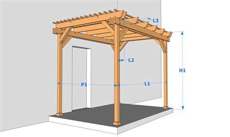 Construire Une Pergola En Bois 1551 by L2