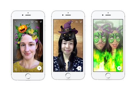 facebook messenger   halloween masks  hide