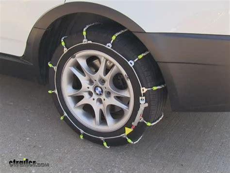 bmw snow chains tire chains for 2005 bmw x3 glacier pw2029c