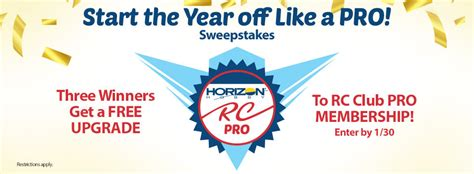 Horizon Hobby Sweepstakes - rc sweepstakes horizon hobby by horizon hobby