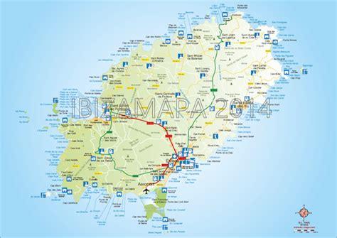 printable ibiza road map ibizamapa ibiza map