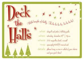 holiday party invitation template eysachsephoto com
