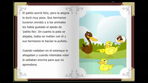 cuentos clasicos infantiles el patito feo cuentos cl 225 sicos infantiles en espa 241 ol