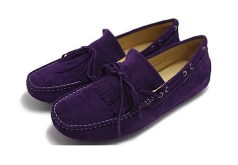 mens purple loafers purple mens loafers by tods shoes