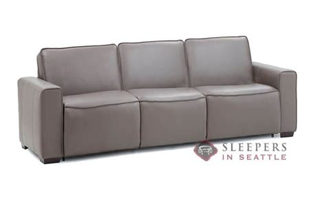 my comfort palliser customize and personalize lullaby queen leather sofa by