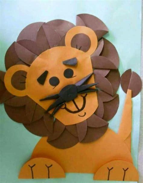 odigami de leon en 3d 17 beste idee 235 n over leeuw knutselen op pinterest