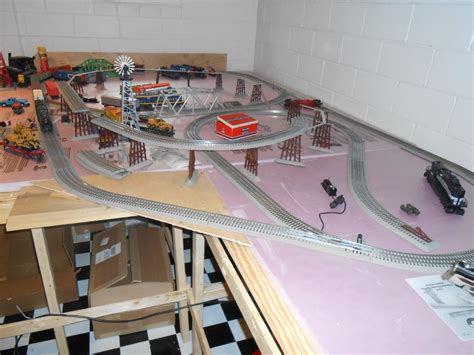 zf2 set layout in action any idea for track requirements for 2 lionel elevated