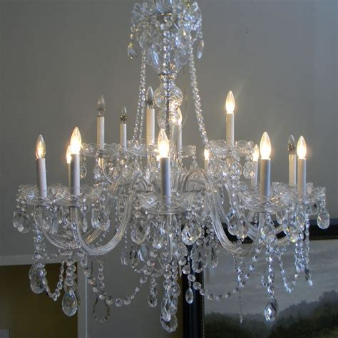 Crystals For Chandeliers 12 Best Collection Of Lead Chandeliers