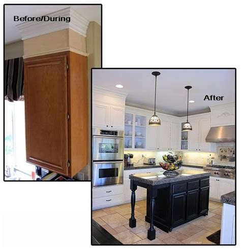 updating kitchen cabinet ideas great molding ideas for you home islands kitchen
