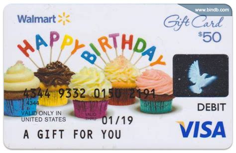Visa Walmart Gift Card - prepaid gift and virtual cards detection