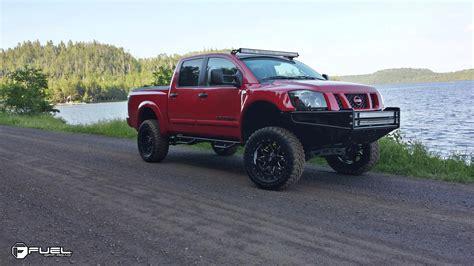 nissan titan fuel nissan titan lethal d567 gallery fuel road wheels