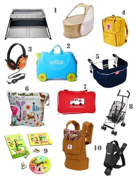 travel items ten handy products for travelling with 171 babyccino daily tips children s products