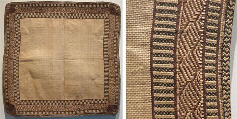 File Mat by File Dress Mat From Marshall Islands Honolulu Museum Of