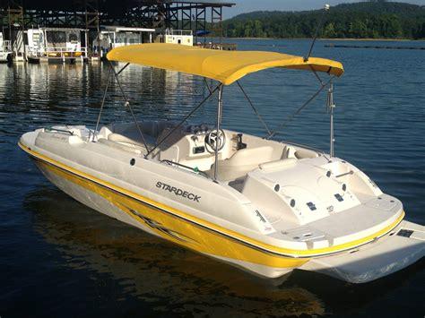 stardeck boat starcraft stardeck aurora 2000 2006 for sale for 15 500