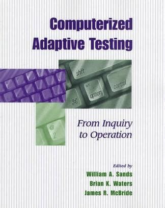 computerized adaptive and multistage testing with r using packages catr and mstr use r books computerized adaptive testing 豆瓣