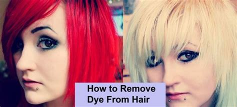 how to wash dyed hair without losing color how to remove dyes and to remove on