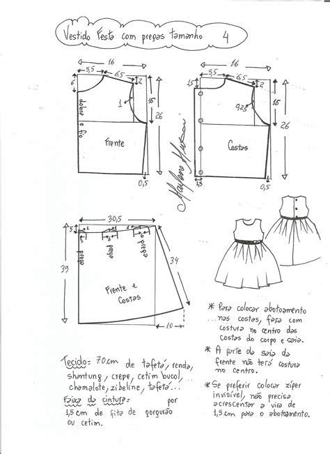 esquema de vestido vestido de festa com saia pregueada diy marlene mukai