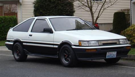 1986 model toyota corolla 1986 toyota corolla levin gt apex bring a trailer