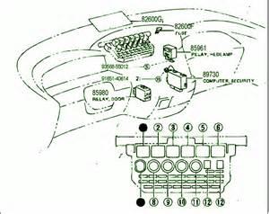 1993 toyota previa wiring diagram previa free printable wiring diagrams