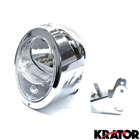 Suzuki Boulevard Headlight Motorcycle Custom Chrome Headlight Light For Suzuki