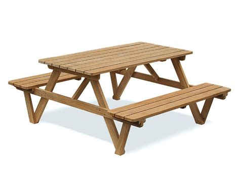 picnic table bench 5ft teak picnic bench teak picnic table