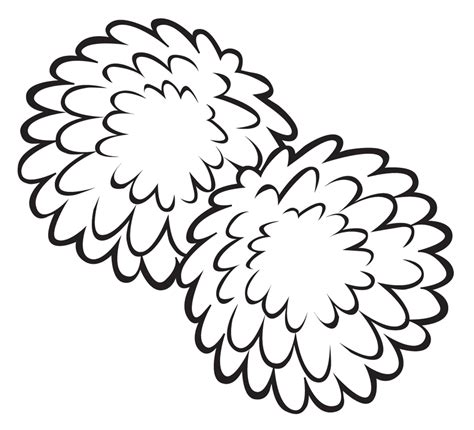 Pom Poms Clipart Cliparts And Others Art Inspiration Pom Pom Coloring Pages