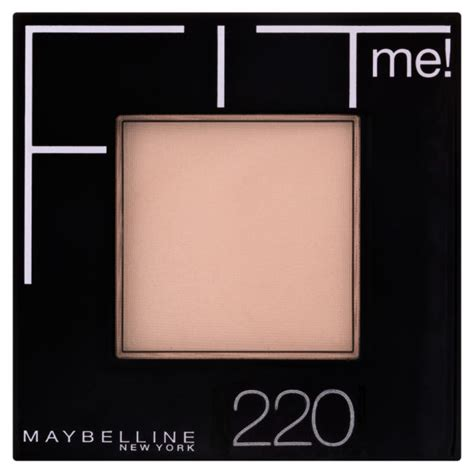 Maybelline Fit Me Powder maybelline new york fit me pressed powder 220