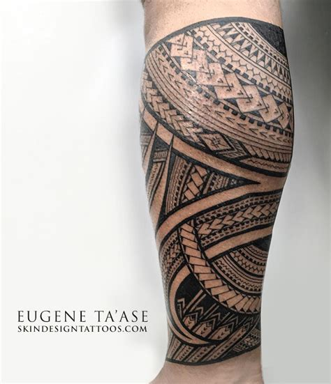 eugene ta ase polynesian tattoo artist at skin design tatoo