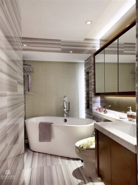 Modern Bathroom Decoration Sophisticated Home With Asian Tone