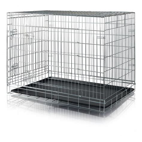gabbia da gabbia in metallo per cani da trasporto pacopetshop