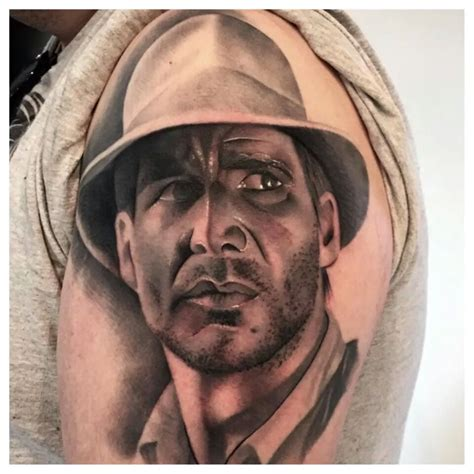 indiana tattoo indiana jones nerdist