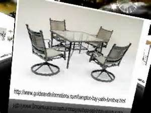 hampton bay patio furniture replacement glass youtube