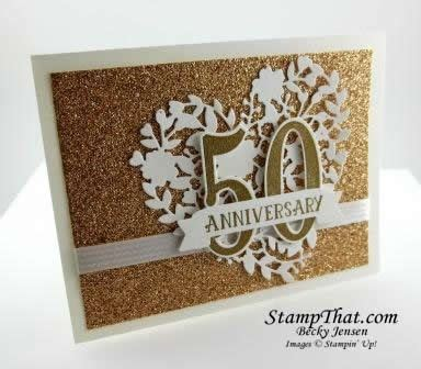 Golden Wedding Anniversary Card Ideas by 1000 Images About More Handmade Cards On