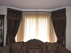 Bow Window Coverings bay window drapes and sheers from drape designers in san