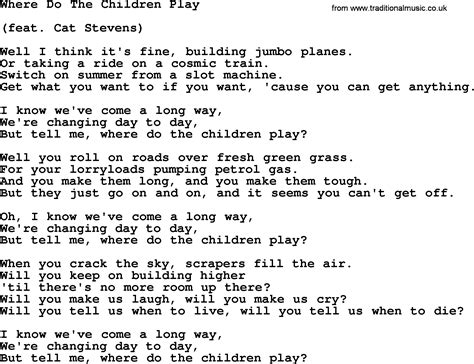 what is that song that plays during the new mitsubishi dolly parton song where do the children play lyrics